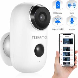 Cámara de vigilancia exterior con Wifi y resolución de 1080P