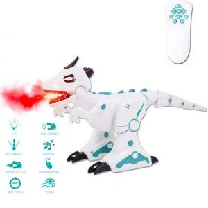 Dinosaurio robot con efectos