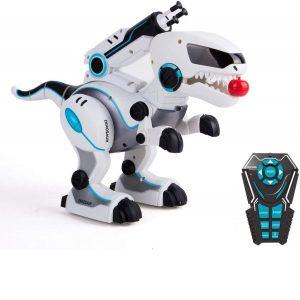 Dinosaurio robot interactivo