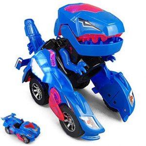 Dinosaurio robot transformer