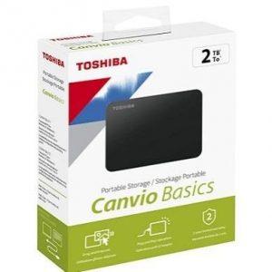 Disco duro externo de 2TB Toshiba Canvio Basics