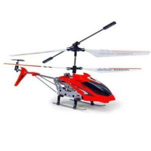 Helicóptero teledirigido de aluminio