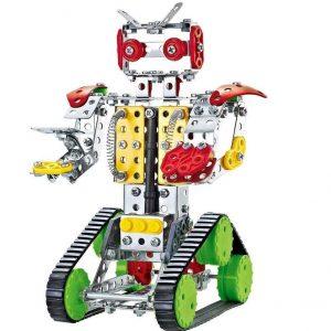 Juego de robots de metal