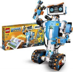 Lego robot con concentrador motorizado