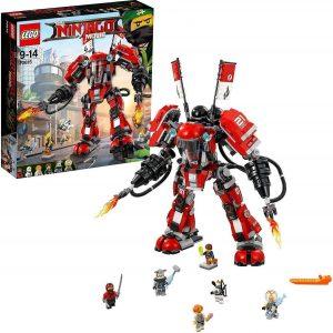 Lego robot con mini figuras