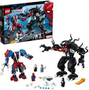 Lego robots de Spider-Man