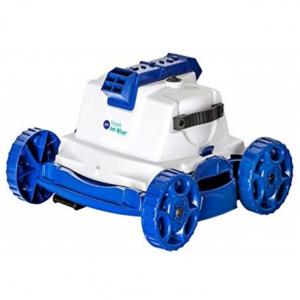 Limpiafondos eléctrico ligero y manejable con capacidad de 18.000L/h