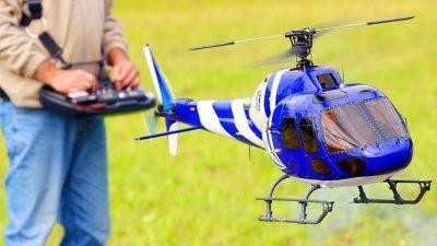 Helicópteros teledirigidos
