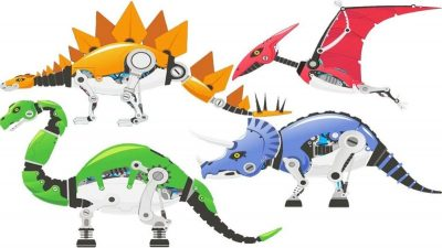 Dinosaurios robots