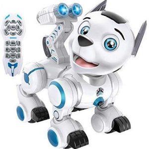 Perro robot programable