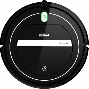 Aspirador robot AIIBOT ultra delgado y sensible con 3 modos de limpieza