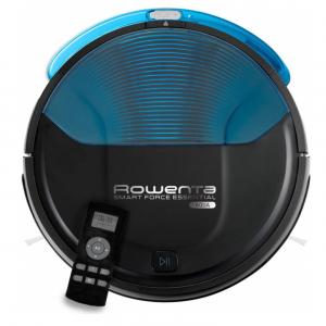 Robot aspirador Rowenta con batería de 2200 mAh y 3 modos de limpieza