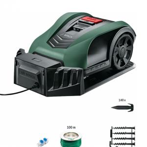 Robot cortacésped inteligente, sistemático y con capacidad de 350 m²