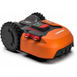 Robot cortacésped para áreas de hasta 300 m² con batería extraíble