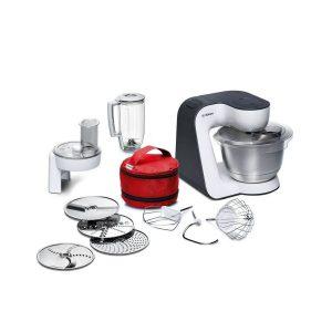 Robot de cocina Bosch de acero inoxidable