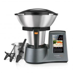 Robot de cocina Cecotec con pantalla táctil