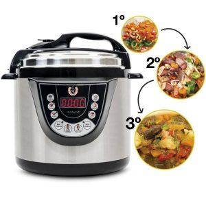 Robot de cocina Cecotec olla a presión