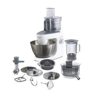 Robot de cocina Kenwood con accesorios incluidos