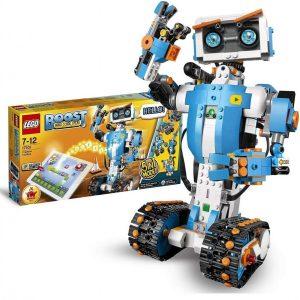 Robot de juguete con concentrador motorizado