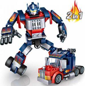 Robot de juguete sencillo de ensamblar