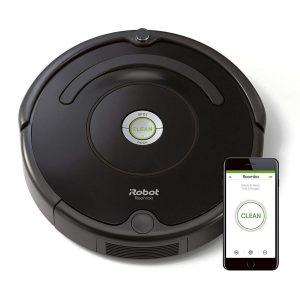 Robot Roomba con tecnología Dirt Detect